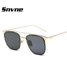 Snvne gafas de Sol 2017 nuevas gafas de sol de moda para hombres mujeres lunette de soleil oculos gafas de sol hombre mujer masculino kk396