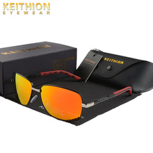 KEITHION Brand Polarized Sunglasses Men New Fashion Eyes Protect Sun Glasses With Accessories Unisex Driving Goggles