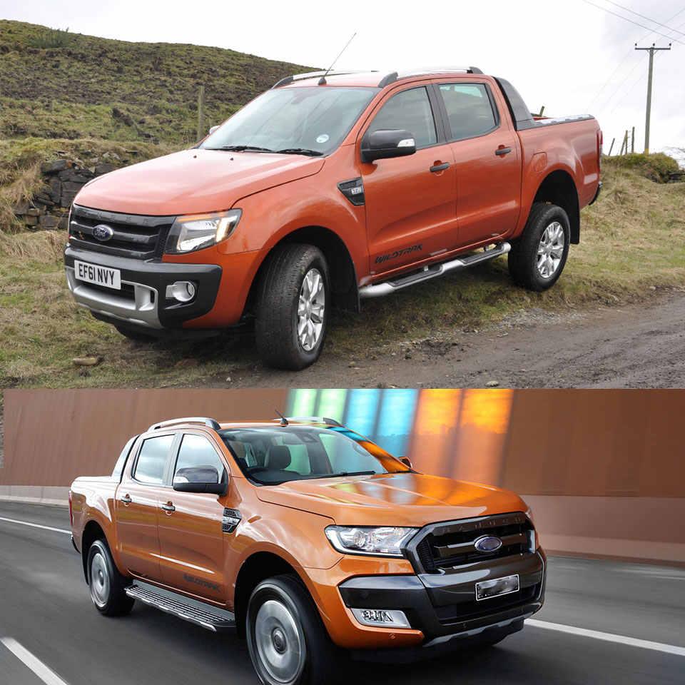 Traseira Guarda Caminhão Porta Traseira Da Guarnição Para Ford Ranger wildtrak T6 T7 2012 2013 2014 2015 2016 2017 2018 2019