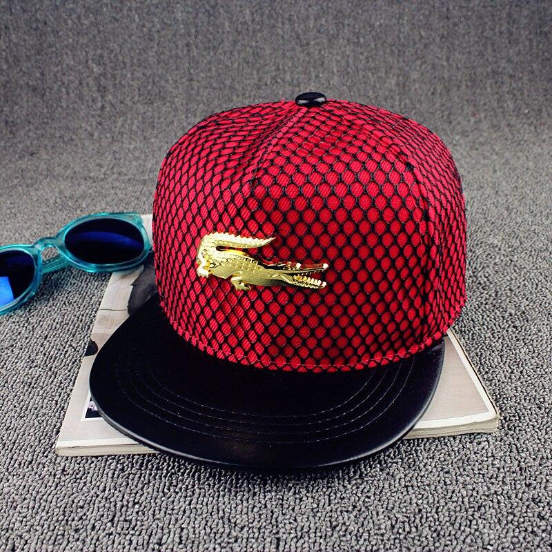 Prix pour Hommes net solide hip-hop cap mâle loisirs casquette de baseball femmes visière droite snapback femelle loisirs chapeau unisexe os
