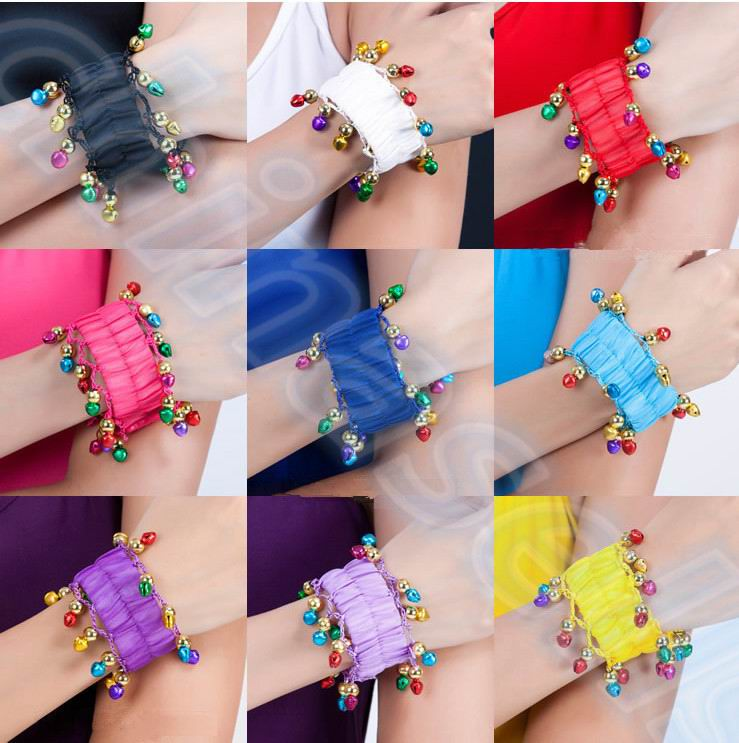 20pairs Tribal Style belly dance bracelet Egyptian dance costumes accessories Indian dance hand catenary belly dance