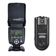 YONGNUO YN560 IV, YN-560 IV Master Radio Flash Speedlite + RF-603 II Flash Trigger für Canon