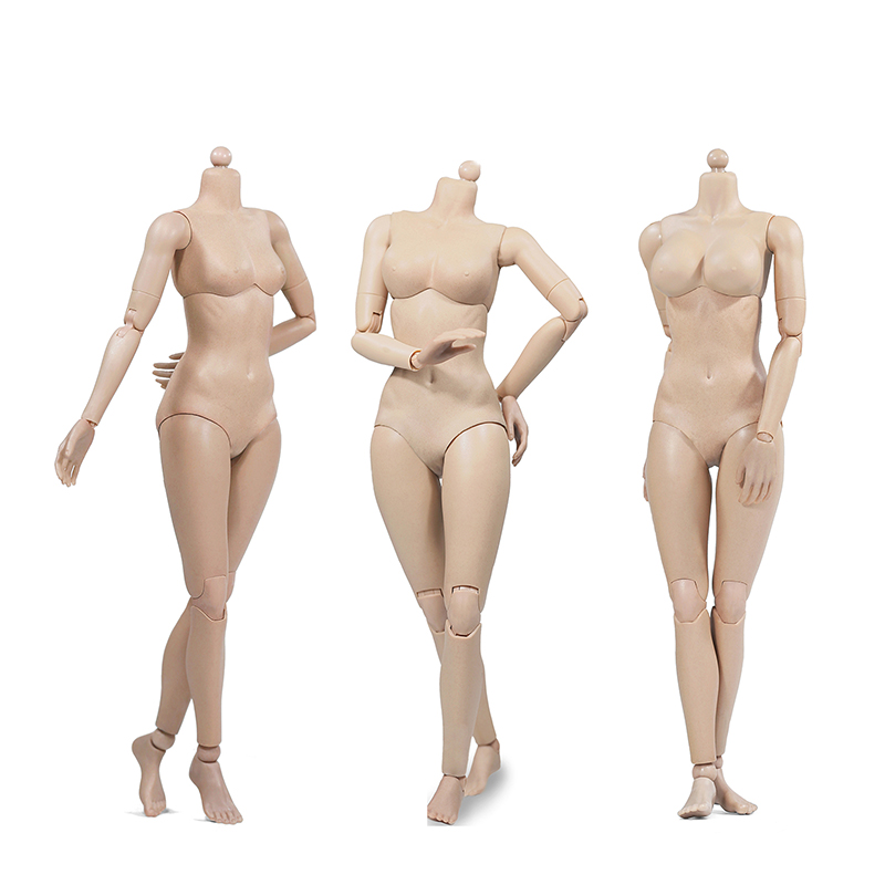 1/6 Repay Version Super Flexible Female Body(Plastic Joints) Figure PVC built-in Sun Tan Color 92003 XING Series bolted joints in laminated composites