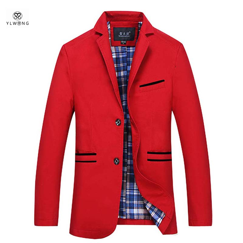 buy popular f4dfb 2e319 Super Large Size Men Blazer Slim Fit 8XL 7XL 6XL Red Green Blazer Jacket Men  Designs New Arrival Mens Blazers For Singer Luxury-in Blazers from Mens  ...