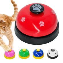 IQ Обучение кошачий звонок Колокольчик для кормления собак Рингер для домашних животных обучающая игрушка интерактивный котенок еда для еды называется ужин напоминание кормушка