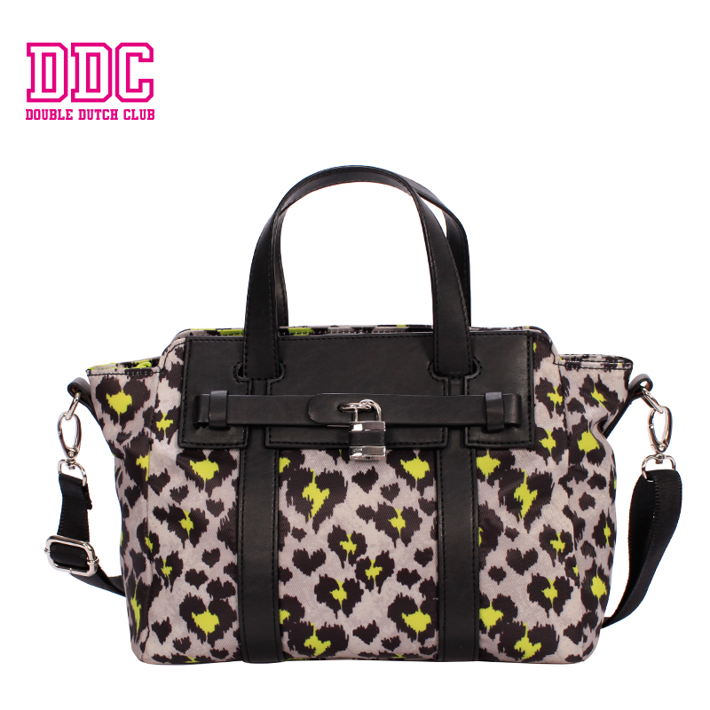 DDC Brand Handbag Bag Female Leopard Bag Women Shoulder Bag Female Casual Tote Original Designer Leather Female Top-handle Bags ddc brand handbags new bag female solid bag women messenger bag female casual tote small original designer female shoulder bag