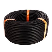 50 Ft 3/4 inch Split Wire Loom Conduit Polyethylene Tubing Black Color Sleeve Tube