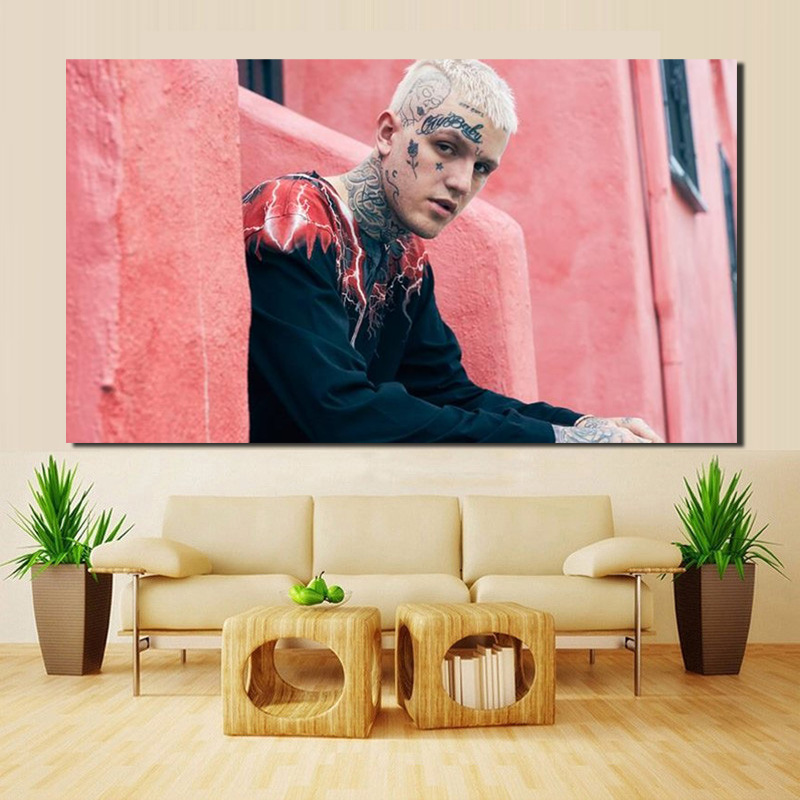 Lil Peep Awful Things HD Canvas Posters Prints Wall Art Oil Paintings Decorative Pictures Bedroom Modern Home Decoration Artwork