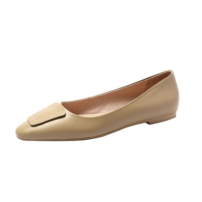 2019 spring new shallow mouth womens shoes casual womens shoes beige 04062019 spring new shallow mouth womens shoes casual womens shoes beige 0406