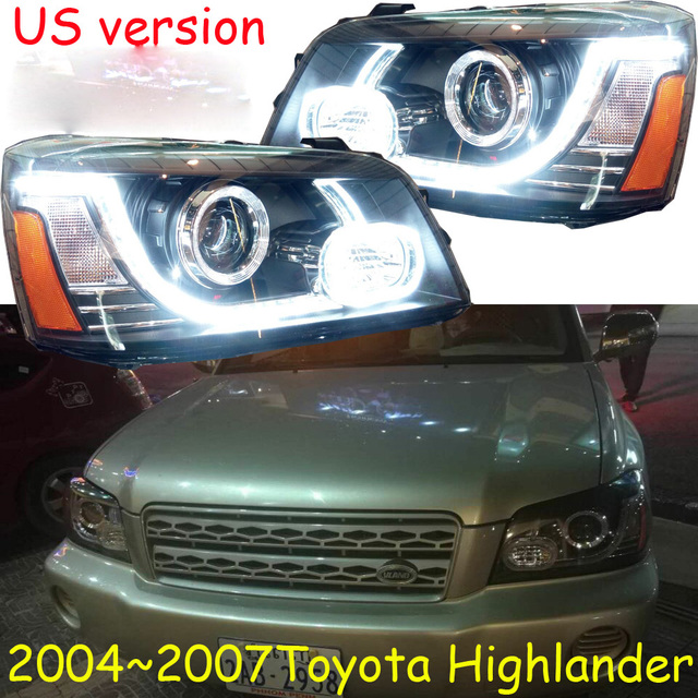 Hid 2004 2007 Car Styling For Highlander Headlight Vios Corolla Camry Hiace Sienna Yaris Tacoma Head Lamp