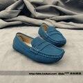 Sallei 13 breves barco sapatos de couro criança do sexo masculino doce cor criança mocassins gommini crianças sapatos meninos calçados infantis