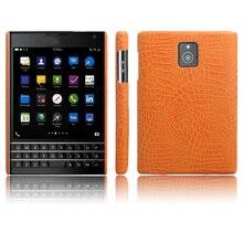 SUNBIN nuevo tipo de piel de cocodrilo funda de teléfono de cuero de poliuretano para Blackberry Passport Q30 (4,5