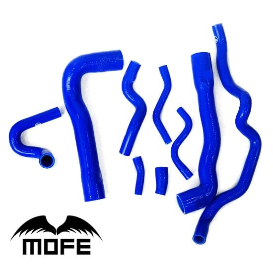 Mofe 9PCS high temp Silicone Coolant Hose Kit For BMW E36 M3 325I 316i European 92-99 8 Colors цена 2017