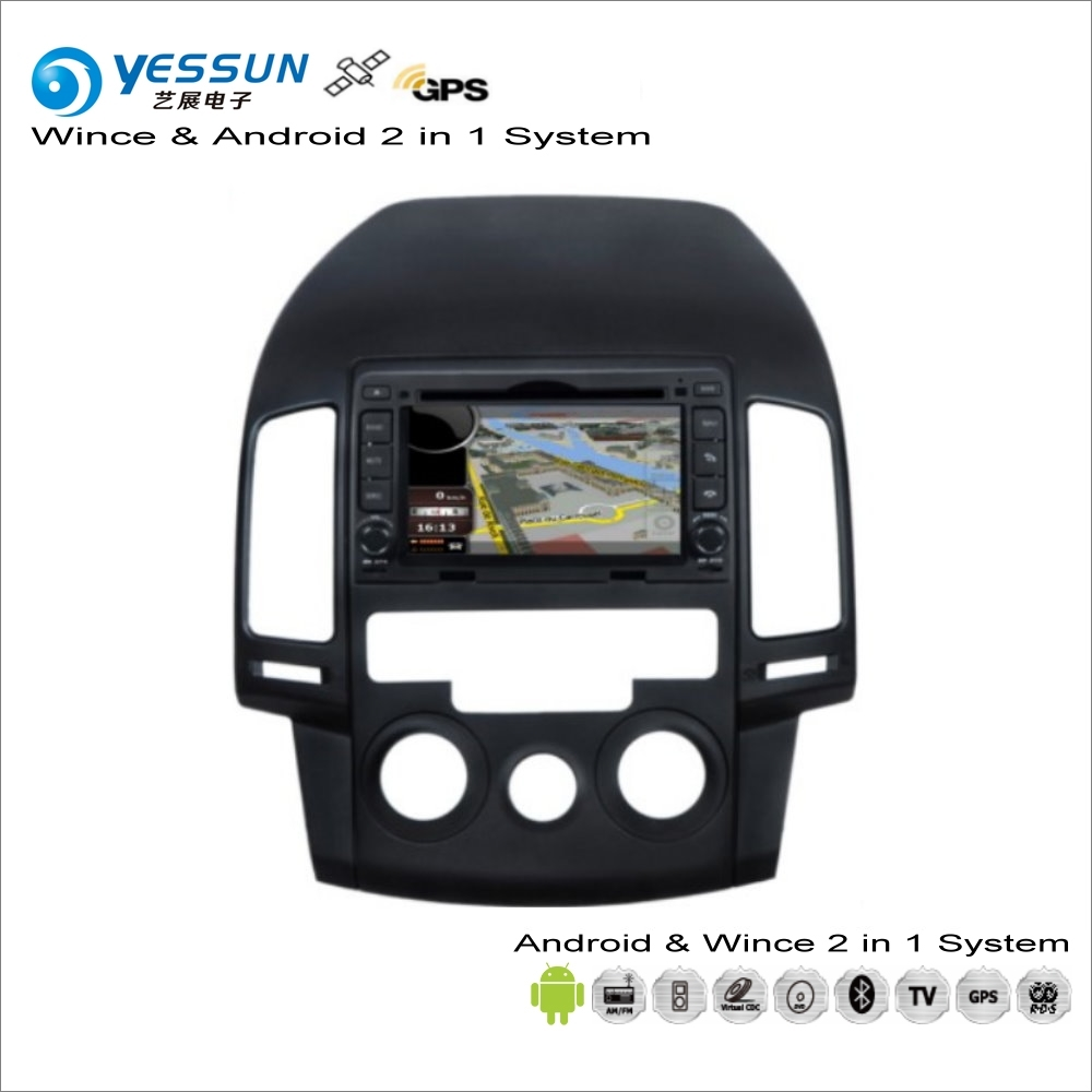 YESSUN For Hyundai i30 / Elantra Touring 2007~2011 Manual AC Car Android Multimedia Radio CD DVD Player GPS Navigation Audio BT modern nordic bird wall lamp modern led wall light fixtures for bedroom bedside led wall mounted sconces home lighting lampara page 1