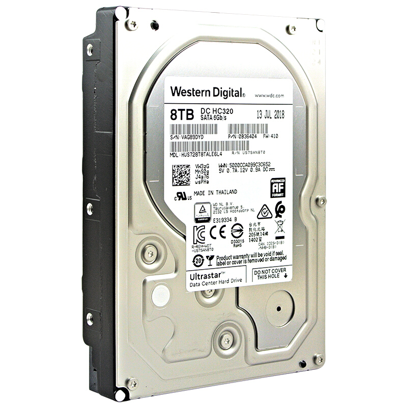 Hot Sale] Western Digital 8TB 6TB 4TB 2TB 1TB Ultrastar DC