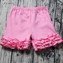 Shorts for girls 6M-10T Cotton Ruffle