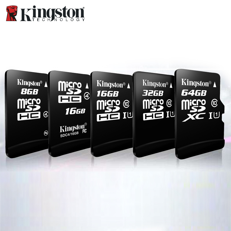 Kingston Microsd Memory-Card Flash 128GB Class-10 Tf-Carte 16GB SDHC/SDXC 256GB 64GB