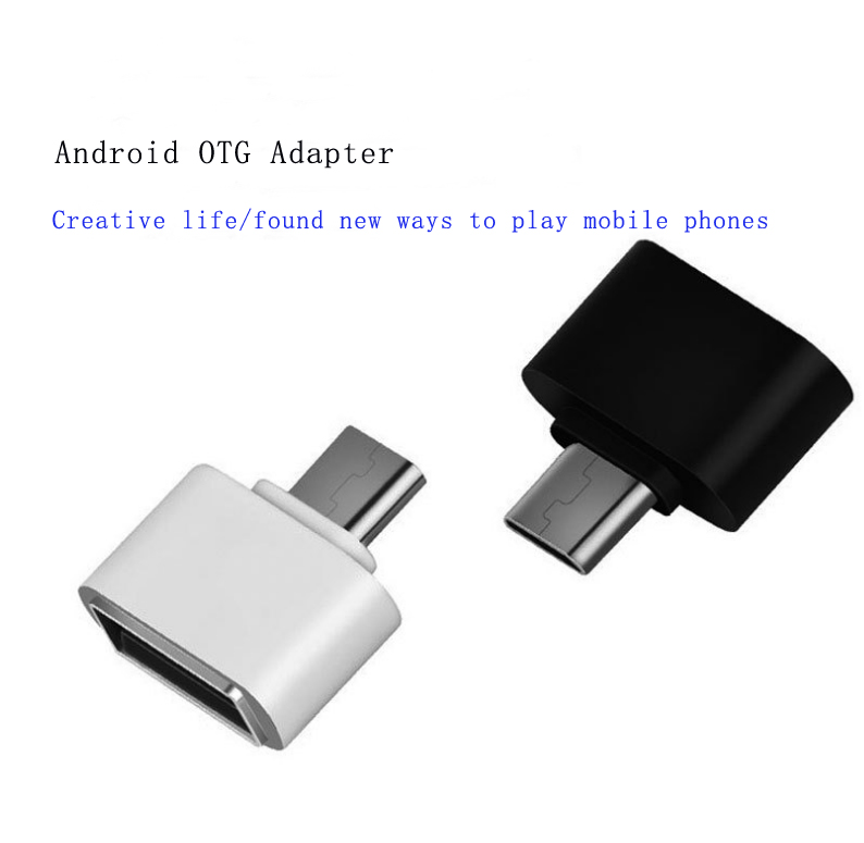 10 шт. Мини Micro USB OTG адаптер штекерным USB2.0 конвертер для Samsung Xiaomi Huawei Meizu Sony LG телефона Android Адаптер USB OTG