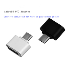 10pcs Mini Micro USB OTG Adapter Male to USB2.0 Co