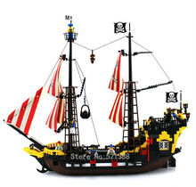 780 bricks Pirates The Brick Bounty Toys for children DIY Building Blocks CHI308 self-locking bricks Compatible with Lego 70413