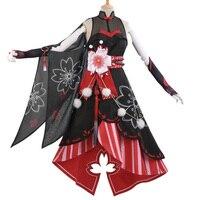 My Hero Academia YAOYOROZU MOMO Costume Flower Festival Kimono Dress Halloween Carnival Dresses Anime Clothes