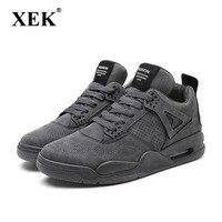 XEK обувь мужские кроссовки 9908 мужской кроссовки Вулканизированная обувь Adulto высокое качество дышащая обувь Sapato Masculino ZLL331