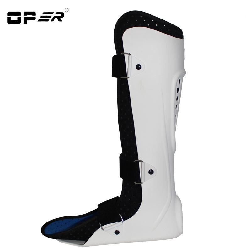 Neue Einstellbare 1 stück Fuß Drop Unterstützung Knöchel Orthese Hosenträger Strap Wrap Aufzug Poliomyelitis Halbseitenlähmung Schutz Unisex - 2