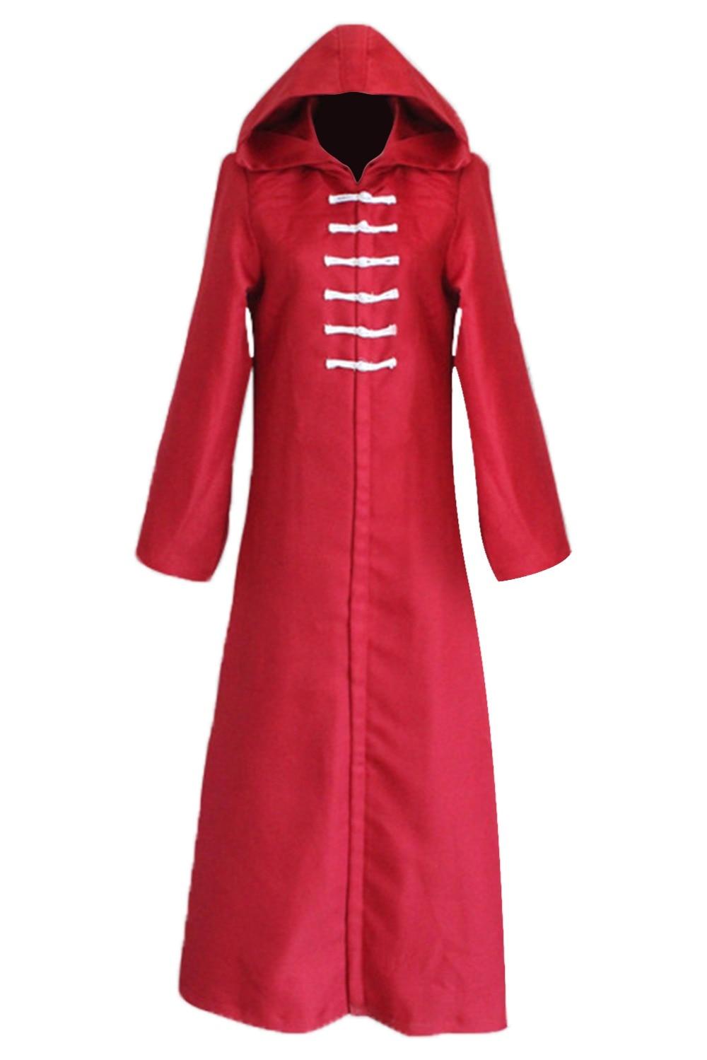 Anime Tokyo Ghoul Aogiri Tree Organization Eto Kirishima Touka Kirishima Ayato Cosplay Costumes Hooded Cloak Red Long Robe
