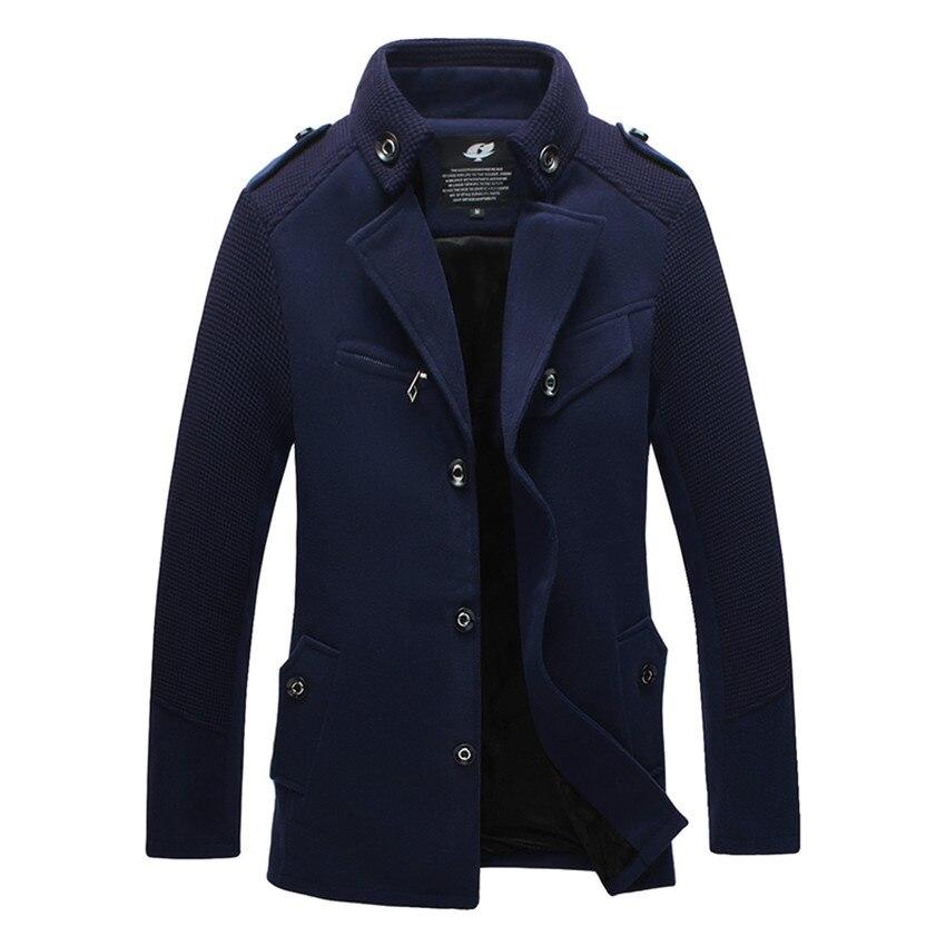 Online Get Cheap Men's Long Wool Coats -Aliexpress.com ...