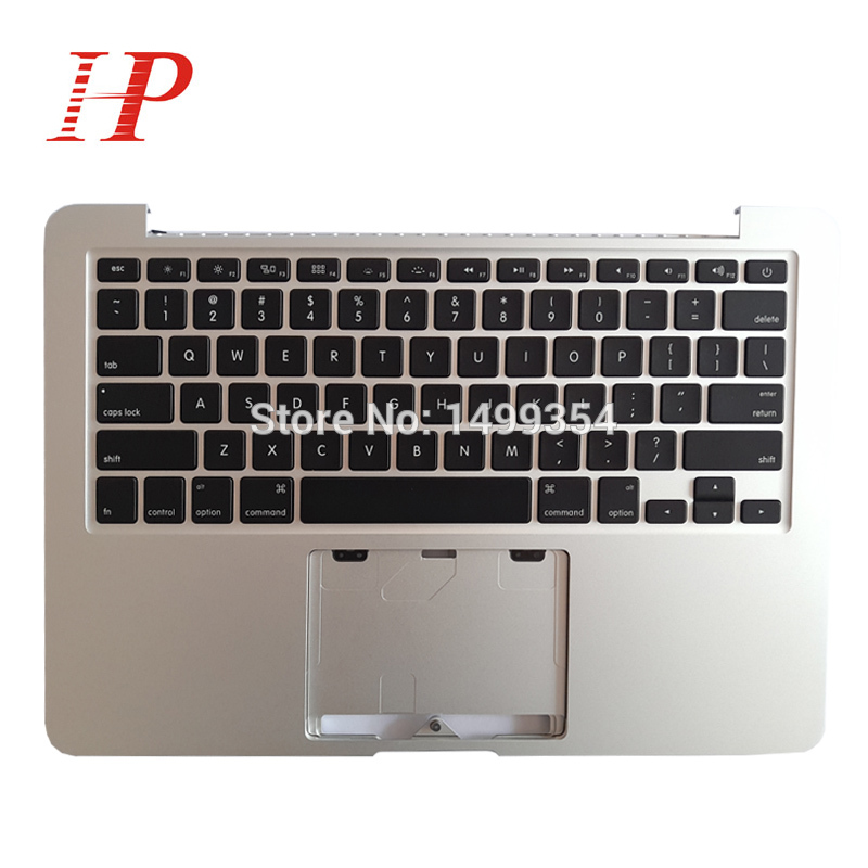Original 2013 2014 Year A1502 Topcase With Keyboard For Apple Macbook Pro 13'' Retina A1502 Palm Rest With Keyboard US/Spain/UK original new laptop a1708 palm rest repair for macbook retina pro top housing case cover us layout 13 inch 2016 year replacement
