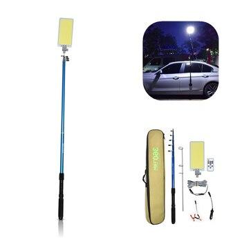 360 אור חיצוני 12V LED קמפינג חכת דיג אורות קמפינג פנס לכביש טיול נסיעות לילה דיג למלא אור עמיד למים