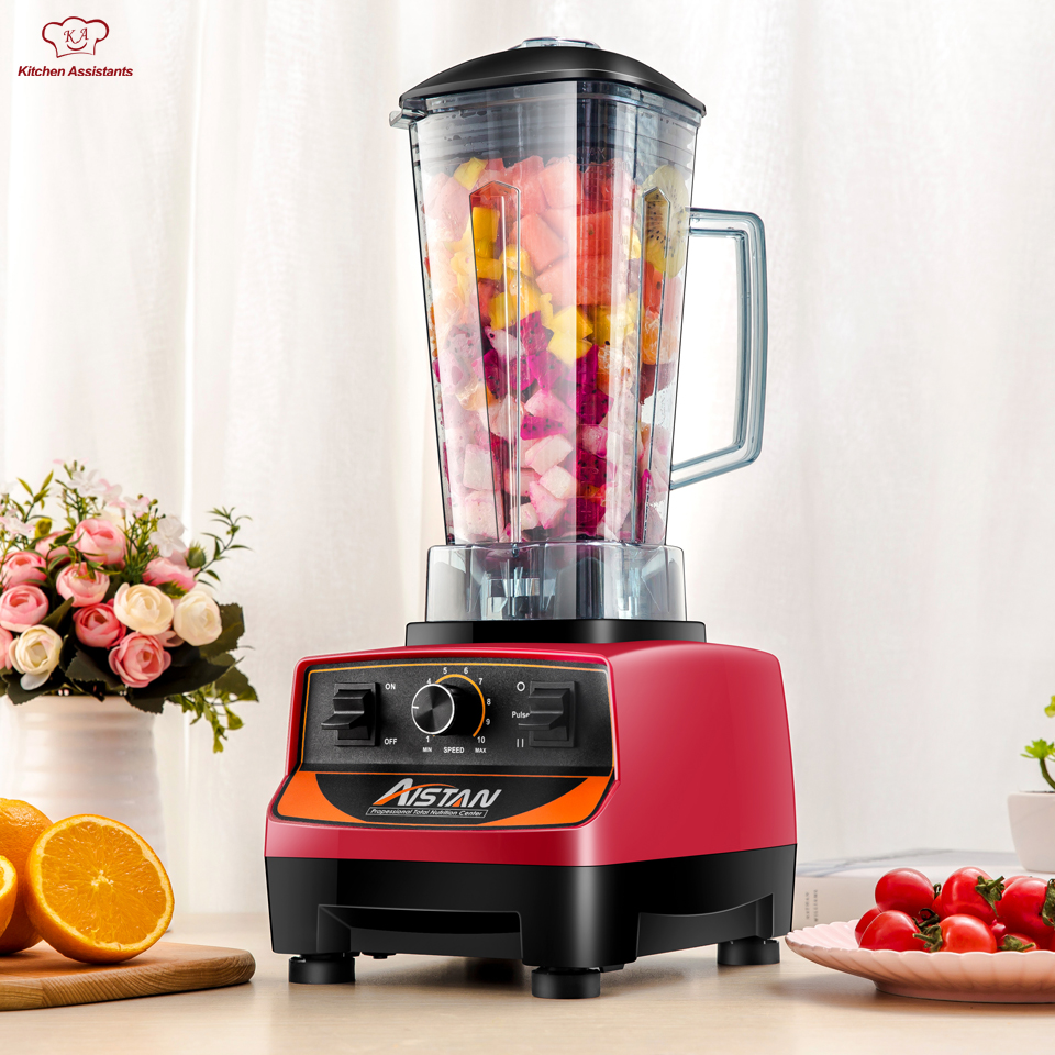 A5200 Commercial puissant électrique multifonctionnel smoothie glace jus de fruits mélangeur avec bpa mélangeur mélangeur 3HP