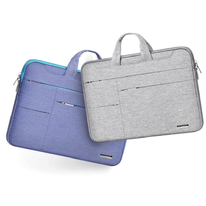 Laptop Sleeve Bag For Dell 12.3 12.5 13.3 14 15.6 Inch Laptops Fashion Tablet Pc Case Waterproof Hand Holder Design Pouch Gift Laptop Accessories