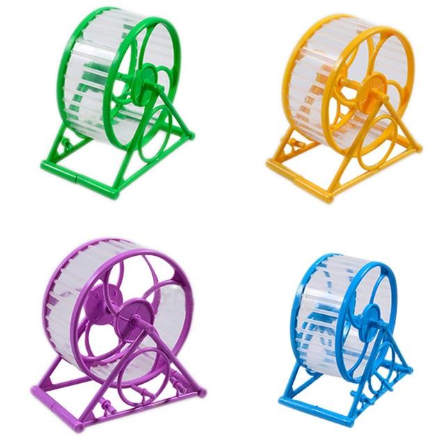 Новое поступление колесо для хомяка для домашних животных бегущий Хомяк Мышь Мыши морская свинка маленькие домашние животные упражняющая игрушка бегущий Спиннер беговое колесо игрушки