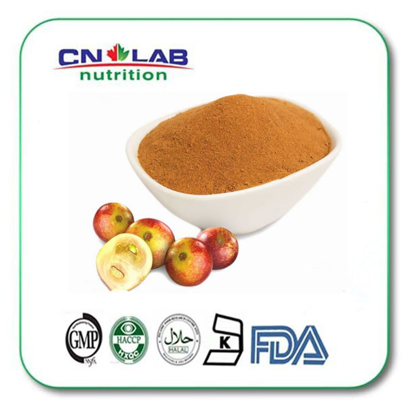 Organic camu camu powder/camu camu fruit extract Vitamin C 10:1 10kg/lot tremella fuciformis extract polysaccharides 10 1 powder 100g lot