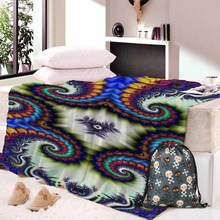 Skull Dreamcatcher Collection Blanket Sherpa Fleece Wearable plush Throw on Bed Sofa Thick warm