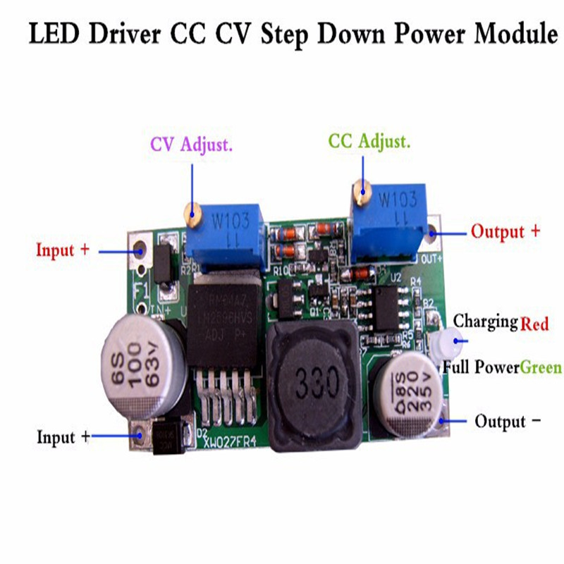 aliexpress com   buy led driver charging cc cv lm2596hv step down power module 3a 15w dc dc 5