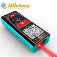 Mileseey 40M 60M 100M Laser Rangefinder Handheld Digital Distance Meter Screen Outdoor Laser Distance Meters Tape