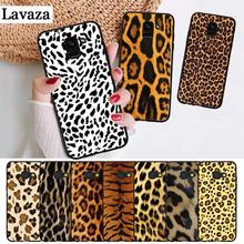 Lavaza Fashion Tiger Leopard Panther Silicone Case for Samsung A3 A5 A6 Plus A7 A8 A9 A10 A30 A40 A50 A70 J6 A10S A30S A50S