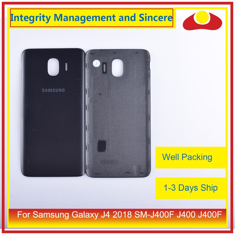 10Pcs/lot For Samsung Galaxy J4 2018 SM-J400F J400 J400F Housing Battery Door Rear Back Cover Case Chassis Shell Replacement