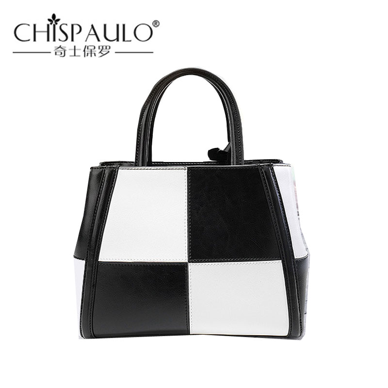2018 High Quality Female Luxury Genuine Leather Handbags Women Top-Handle Bags Designer Tote Famous Brand Fashion Shoulder Bag fashion women handbags famous brand luxury designer shoulder bag ladies large tote high quality black pu leather top handle bags