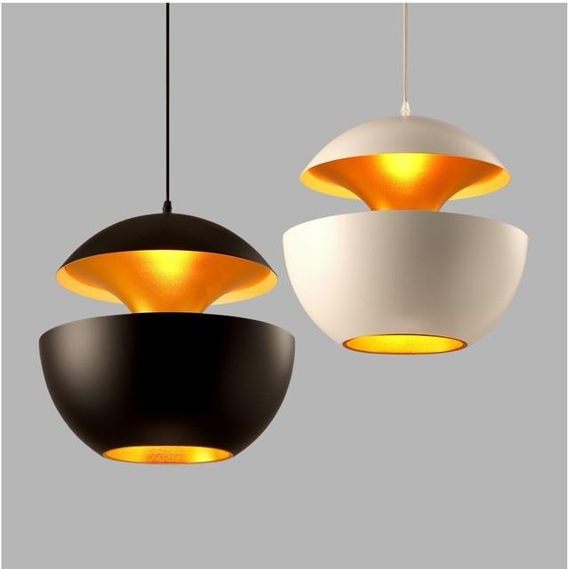 2017 New Modern Pendant Lights Restaurant Bar And Living Room Aluminum LED Pendant Lamps Kitchen Hanging Light Fixture Luminaira
