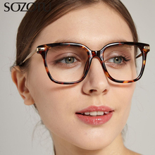 SOZOTU Eyeglasses Frame Women Prescription Myopia Optical Computer Clear Lens Glasses Spectacle Frame For Female Oculos YQ366