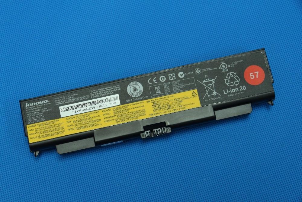 5200mAh 4.4Ah 10.8V 48Wh Genuine New Original Laptop Battery for Lenovo ThinkPad T540P W540 L440 L540 45N1145 45N1148 45N1149 neworig keyboard bezel palmrest cover lenovo thinkpad t540p w54 touchpad without fingerprint 04x5544