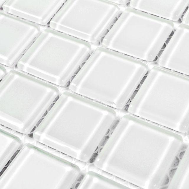 Mosaico de vidrio salpicaduras para materiales decorativos Square ...