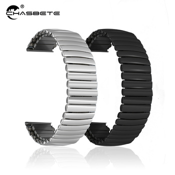 Stainless Steel Watch Band 12mm 14mm 16mm 18mm 20mm 22mm 24mm Elastic Strap Loop Wrist Expansion Belt Strech Bracelet black milanese watch band 8mm 10mm 12mm 14mm 16mm 18mm 20mm 22mm 24mm stainless steel mesh replacement strap for dw apple