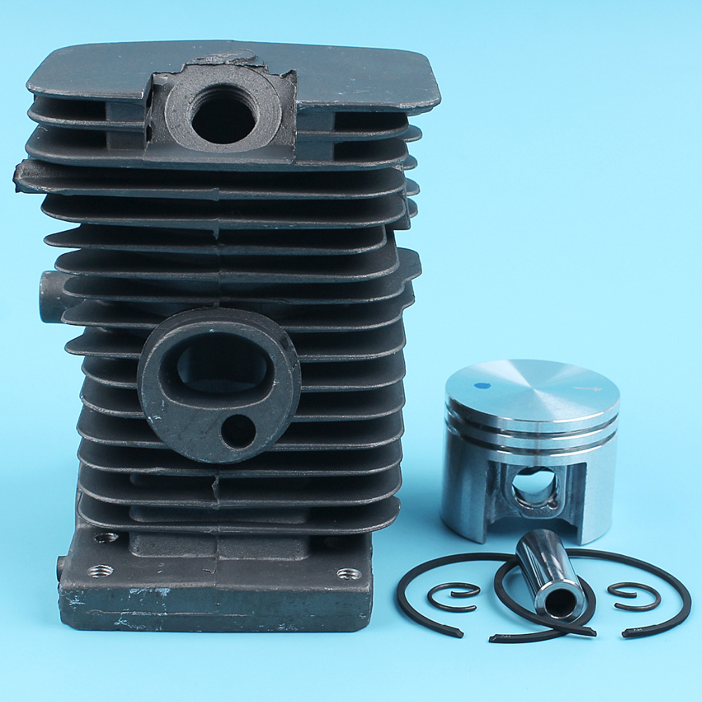 38mm NIKASIL PLATED Cylinder Piston Ring Kit Fit Stihl 018 MS180 MS 180 Chainsaw Gasoline Motor Engine Part 1130 020 1205 New бензопила stihl ms 180 14