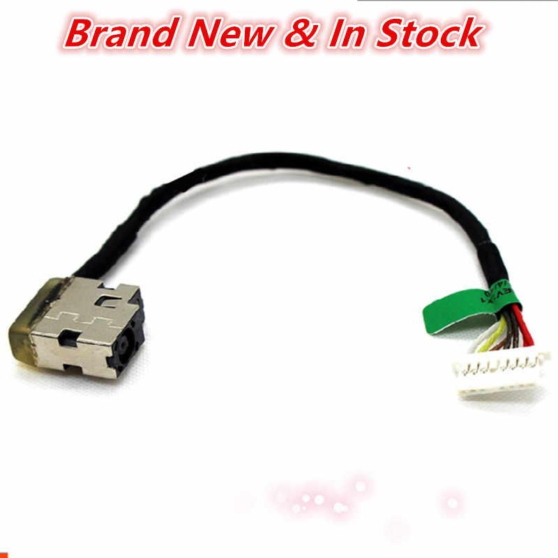 Máy tính xách tay DC Jack Cáp Điện Cổng Kết Nối Cắm Dây Nịt Đối Với HP 15-AE 15-AE018 15-AE021TX 15-AE000 15-AE100