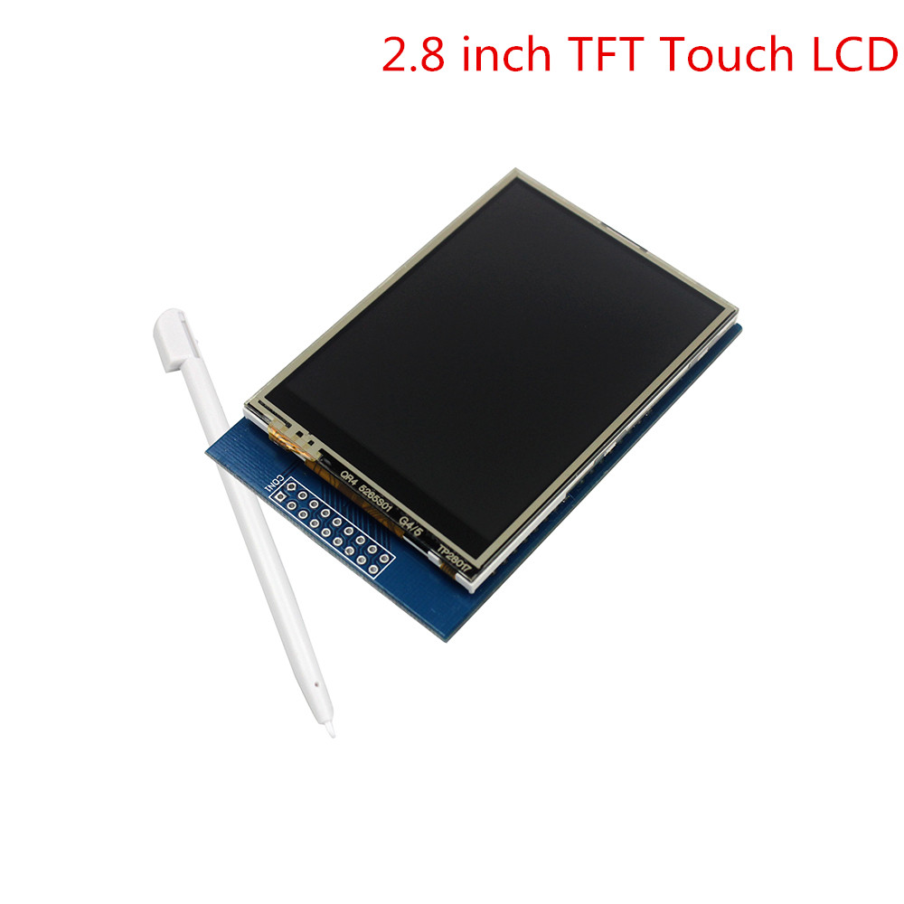 Smart Electronics 2.8 inch TFT Touch LCD Screen Display Module for arduino Compatible with UNO R3Smart Electronics 2.8 inch TFT Touch LCD Screen Display Module for arduino Compatible with UNO R3