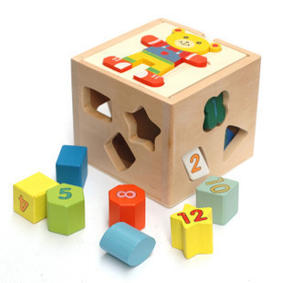 Winnie the Intellectual Box to Recognize Shapes Intellectual  Educational Toy Non-toxic Harmless Free Shipping Russia